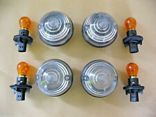 Wipac Land Rover Defender clear lens Indicator lamps + Bulbs