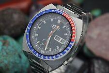 ca. 1969 seiko chronograph pepsi pogue 6139-6002 edelstahl 1st gen watch