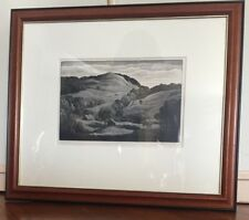 THOMAS W. NASON ORIGINAL SIGNED AND DATED WOOD ENGRAVING