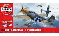 AIRFIX® 1:48 NORTH AMERICAN P-51D MUSTANG FILLETLESS TAIL MODEL AIRCRAFT A05138