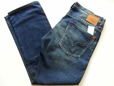 Cotton Long Distressed 32L Jeans for Men