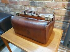 Antique / vintage French Gladstone doctor's bag / case by Au Départ
