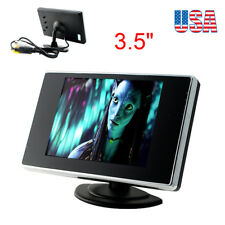 "3.5"" TFT LCD Color Mirror Monitor for Car Reverse Rear View Backup Camera / DVD"