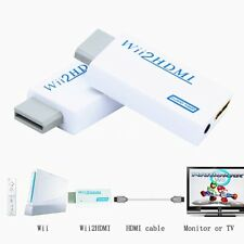 Wii to HDMI Adapter Converter Support 720P 1080P 3.5mm Audio for HDTV Wii2HDMI