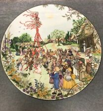 Vintage Wedgwood May Day Collectible Plate
