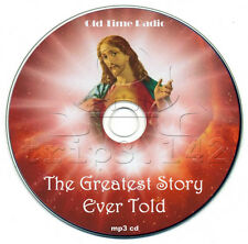 The Greatest Story Ever Told (OTR) Old Time Radio Jesus Christ Christianity CD