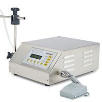 110V Liquid Filling Machine Bottling Bottle Filler Digital Control Pump 5-3500ML
