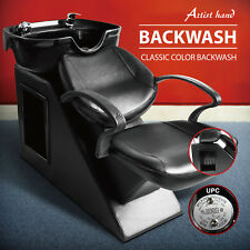 Backwash Barber Shampoo Chair Bowl Sink Unit Station Beauty Salon Spa Equipment