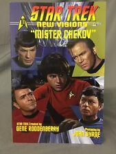 Star Trek New Visions Mister Chekov Graphic Novel Tpb IDW New