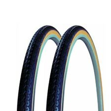 """2x Michelin WorldTour bicycle tyre wired 28"""" 35-622 black"""