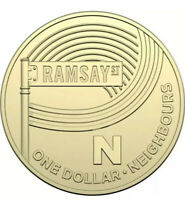 The Great Aussie Coin Hunt Australia Post 2019 $1 Dollar Coin N FOR NEIGHBOURS