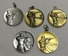 Mb111. 5 Stuckt. Schützen – Medaillen - Schützenmedaillen