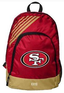 NFL San Francisco 49ers 2018 Border Stripe BackPack