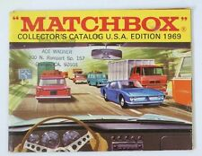 Vintage 1969 Matchbox Lesney Collector's Toy Dealer Catalog Booklet