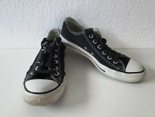 Converse All Star Chucks Sneaker Turnschuhe Slim Low Schwarz Gr. 6,5 / 39,5