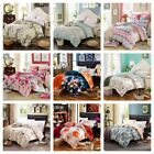 Floral Cotton Quilt/Duvet Cover Set Queen/King/Single Size Bed New Doona Cover