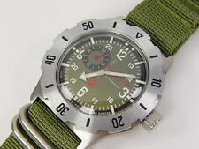 New mod. Automatic divers amphibian VOSTOK 100m WR 2415 350501 Commander's watch
