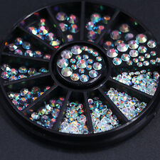 Mixed Glitter Nail Rhinestones 3D Nail Art Decoration Cute Tips DIY Accessories