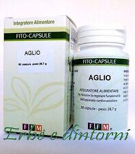 AGLIO ESTRATTO SECCO TITOLATO 60 CAPSULE - Ipertensione,parassitosi,colesterolo