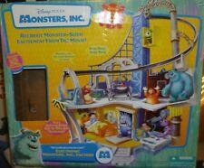 DISNEY PIXAR MONSTERS INC. Raro juego electrónico's Set 2001 en caja con todas las figuras