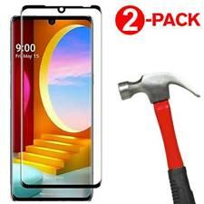 2-Pack 3D Full Cover Tempered Glass Screen Protector for LG Velvet / Velvet 5G