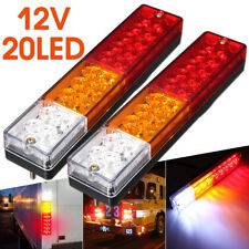 2x LED Stop Rear Tail Reverse Light Indicator Lamp Ute Truck Trailer Caravan 12V