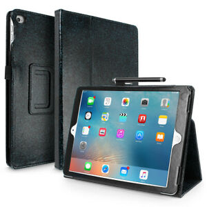 """For iPad 6th Gen 9.7""""Leather Case Cover Sleep Function With Screen Protector Pen"""