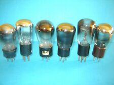 lotto di sei valvole radio anni '30 triodi.  lampe Röhre.  test debole