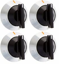 4 X 330190 - Range Knob Pack of 4 for Whirlpool