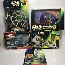 Star Wars - Action Figures Lot - New in Their Boxes Lot Of 5