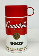 Vtg 1998 Campbell's SOUP CAN-TAINER 11.5 oz Insulated Hot Food THERMOS Container