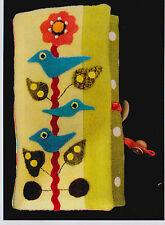 PATTERN - Songbird Jewelry Roll - applique PATTERN - Sue Spargo