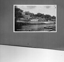 Shropshire Shewsbury School and Boathouse J Salmon card unposted A031