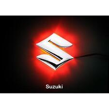 LED Car Tail Logo Red light Auto Badge Emblems Lamp For Suzuki Swift Jimny Alto
