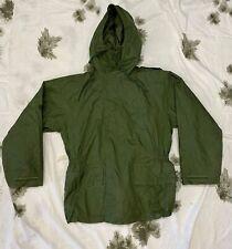 British Army / RAF Green Foul Weather Waterproof Jacket 180/100 Falklands era 8C