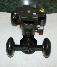 Dolly Slider with Heavy Duty Ball Head with Quick Release Plate for DSLR camera