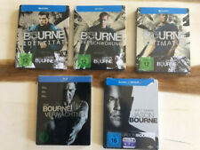 Bourne 1-5 Steelbook - OVP - Mint