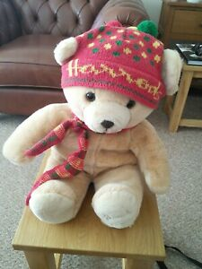"Harrods 1988 13"" Christmas Eddie bear"