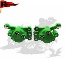 Green Front & Rear Pinza freno a disco Per 2 Stroke 47cc 49cc Mini Moto ATV Quad