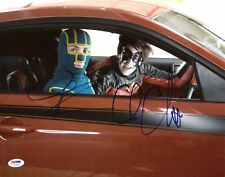 Christopher Mintz Plasse & Aaron Johnson Kick-Ass Signed 11X14 Photo PSA #U23805