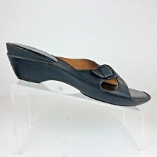 SOFFT Womens Shoes Size 12 Medium Black Low Heel Slides Style 1206604