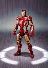 NEW hot 16cm avengers Super hero Iron man MK43 movable action figure toys