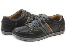 Skechers Men's SHOE Black Sorino Duarte Relax Oxford Size 8.5M  Retail $89  NEW