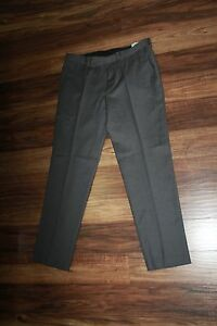 Men Pants Dress/Work size 34W x 30L on Gray by Bar III from Macy's