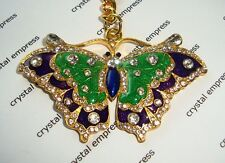 Feng Shui - 2016 Bejeweled Wish Fulfilling Butterfly Keychain
