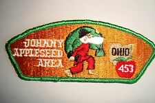 OA JOHNNY APPLESEED AREA COUNCIL SHOULDER PATCH CSP CLOTH BACK SERVICE FLAP