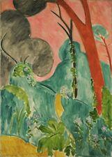 Moroccan Garden, 1912, HENRI MATISSE, Expressionism, Fauvism Art Poster