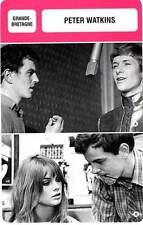 FICHE CINEMA :  PETER WATKINS -  Grande-Bretagne (Biographie/Filmographie)