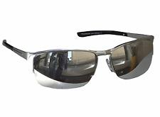Matrix Sonnenbrille Chrom Silber verspiegelt Motorradbrille Sportlicher Look M21