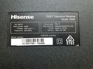 HISENSE 65N5. PSU, T-CON, WIFI Module, Stand